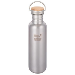 Klean Kanteen Drinkfles Reflect - Brushed Stainless (800 ml)