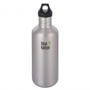 Klean Kanteen Drinkfles Classic Loop Cap (1182 ml) Brushed Stainless