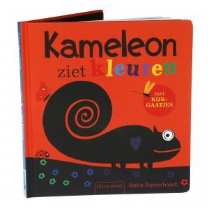 Clavis Leesboekje Kameleon ziet kleuren