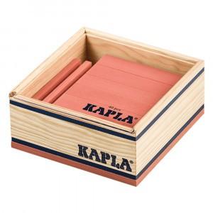 Kapla Gekleurde plankjes per 40 Roze