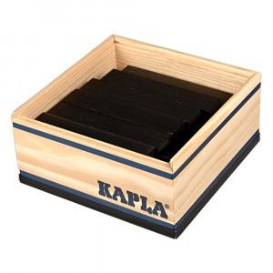 Kapla Gekleurde plankjes per 40 Zwart