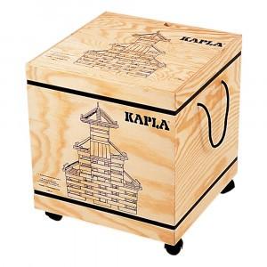Kapla Houten Opbergkist met 1000 plankjes