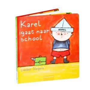 Clavis Leesboekje Karel gaat naar school