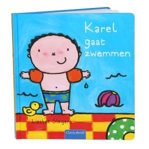 Clavis Leesboekje Karel gaat zwemmen