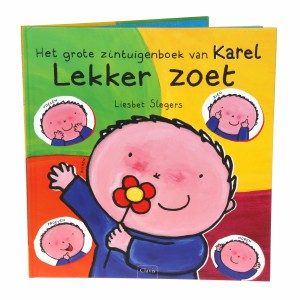 Clavis Leesboekje Het grote zintuigenboek van Karel