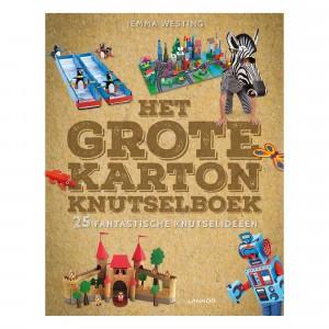 Lannoo Het grote karton knutselboek