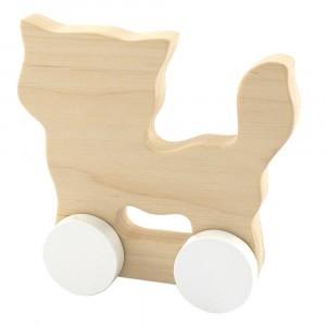 Pinch Toys Houten Duwfiguur Maxi Kat