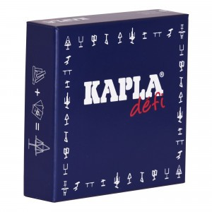 Kapla Challenge met 16 plankjes