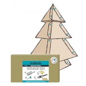 Makedo Bouwen met Karton Holiday Kit 'Kerst'