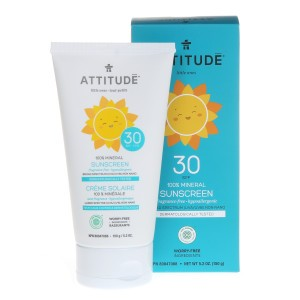 Attitude Little Ones Zonnecrème Geurvrij SPF 30 (150 ml)
