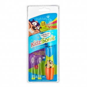 Brush Baby KidzSonic Tandenborstel 3-6Y Blauw