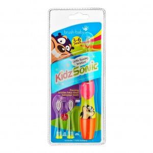 Brush Baby KidzSonic Elektrische Tandenborstel 3-6Y Roze