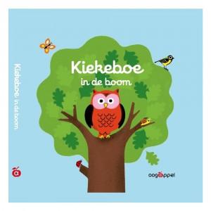 Oogappel Flapjesboek Kiekeboe in de boom