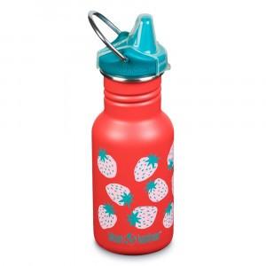 Klean Kanteen Drinkbus Classic Kind met Sippy Cap (355ml) Coral Strawberries