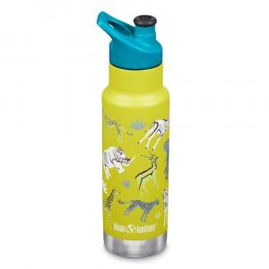Klean Kanteen Thermische Drinkbus Kind Insulated met Sport Cap (355ml) Safari