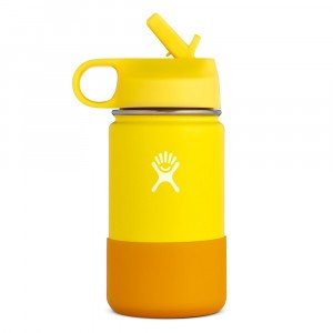 Hydro Flask Drinkfles Kids Wide Mouth (354 ml) Lemon