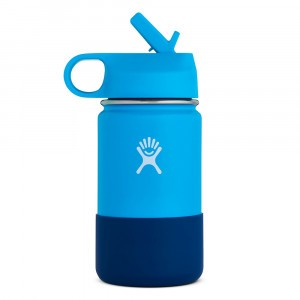Hydro Flask Insulated Drinkfles Kids Wide Mouth (354 ml) Pacific