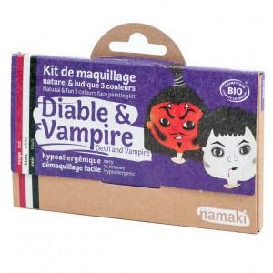 "Namaki Grimeerverf  Kit 3 Kleuren ""Duivel & Vampier"""