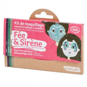 "Namaki Grimeerverf  Kit 3 Kleuren ""Fee & Zeemeermin"""