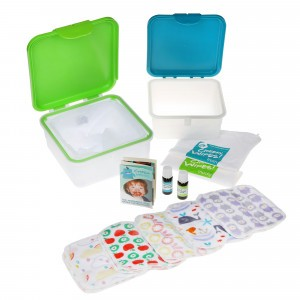 Cheeky Wipes Kit Maxi met Minky Doekjes