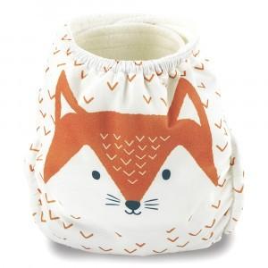 Kit & Kin One Size Luier Velcro Fox (+4kg)