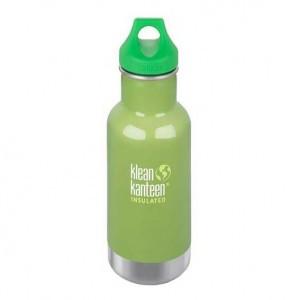 Klean Kanteen Drinkfles Kind Vacuum Insulated Loop Cap 354ml Tree frog