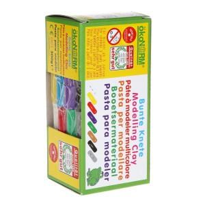 Ökonorm Modelleerklei 8 kleuren (500gr)