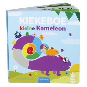 Clavis Leesboekje Kiekeboe Kleine Kameleon