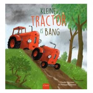 Clavis Leesboekje Kleine tractor is bang