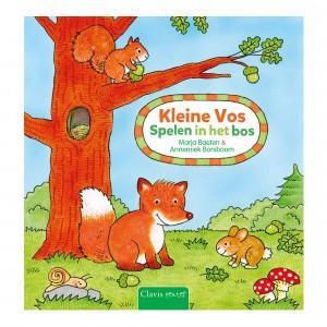 Clavis Leesboekje Kleine Vos 'Spelen in het Bos'