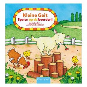 Clavis Interactief Boek Kleine Geit 'Spelen op de Boerderij'