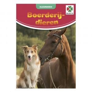Selecta Kleurboek Boerderijdieren