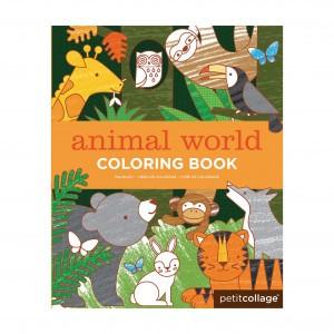 Petit Collage Kleurboek Dierenwereld