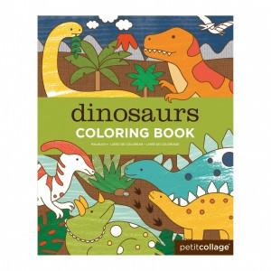 Petit Collage Kleurboek Dinosaurussen