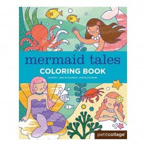 Petit Collage Kleurboek Zeemeerminnen