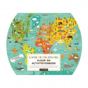 Petit Collage Kleur & Activiteitenboek Onze Wereld