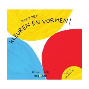 Oogappel Kijkboek Baby ziet: Kleuren en vormen