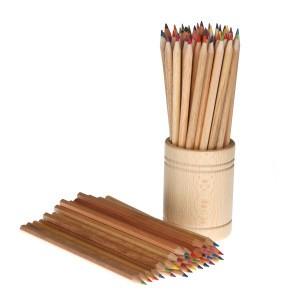 Ökonorm Koker met 72 assorti kleurpotloden