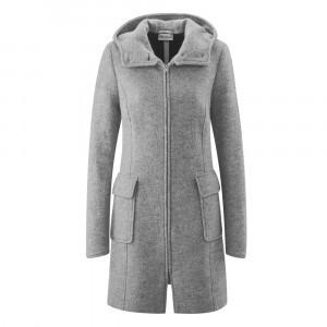 Mamalila Draagjas Hooded Coat Vienna Light Grey