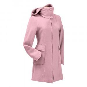 Mamalila Draagjas Hooded Coat Vienna Winter Rose