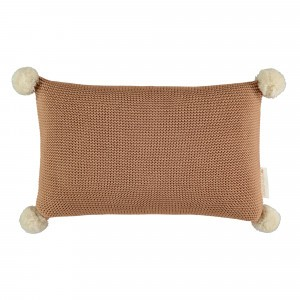Nobodinoz So Natural Knitted Kussen Biscuit