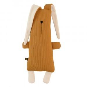 Forgaminnt Amber Yarn Knuffel Bunny Mustard Sunset