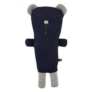 Forgaminnt Amber Yarn Knuffel Teddy Bear Navy Blue