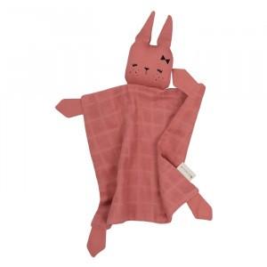 Fabelab Knuffeldoekje Bunny Clay