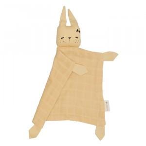 Fabelab Knuffeldoekje Bunny Pale Yellow