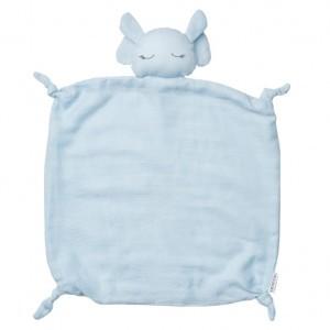 Liewood Knuffeldoekje Olifant Baby Blauw