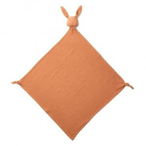 Liewood Knuffeldoekje Robbie Rabbit Terracotta