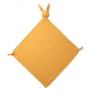 Liewood Knuffeldoekje Robbie Rabbit Yellow Mellow