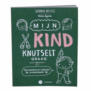 Lannoo Boek Mama Baas 'Mijn kind knutselt graag'