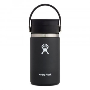Hydro Flask Insulated Coffee Mug w/Flex Sip Lid (355 ml) Black
